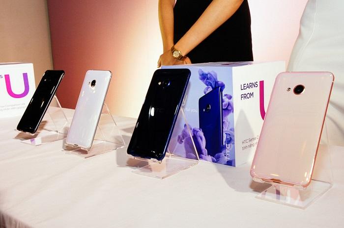HTC chinh thuc ra mat U Play và U Ultra tai thi truong Viet