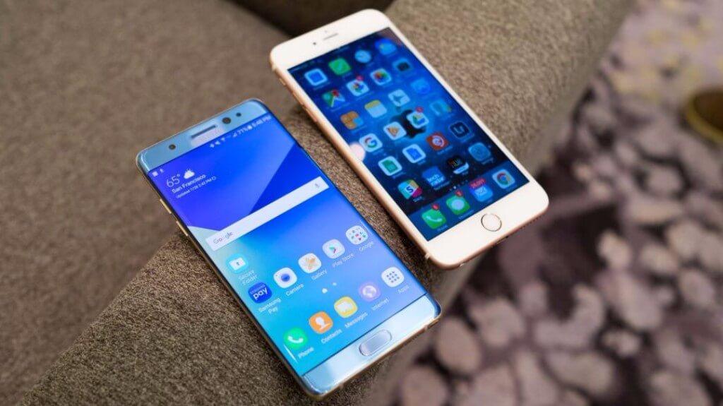 """Điện thoại iPhone mới sẽ là """"anh em"""" với Samsung Galaxy Note 8?"""