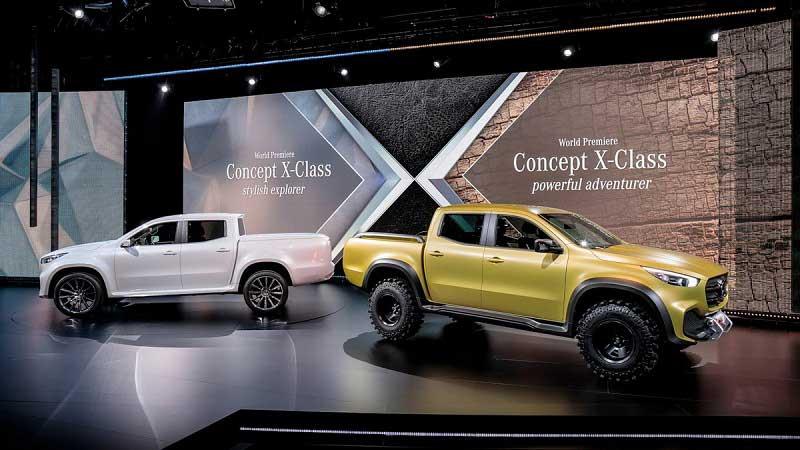 Đánh giá xe bán tải X-Class thuộc hạng sang của Mercedes-Benz