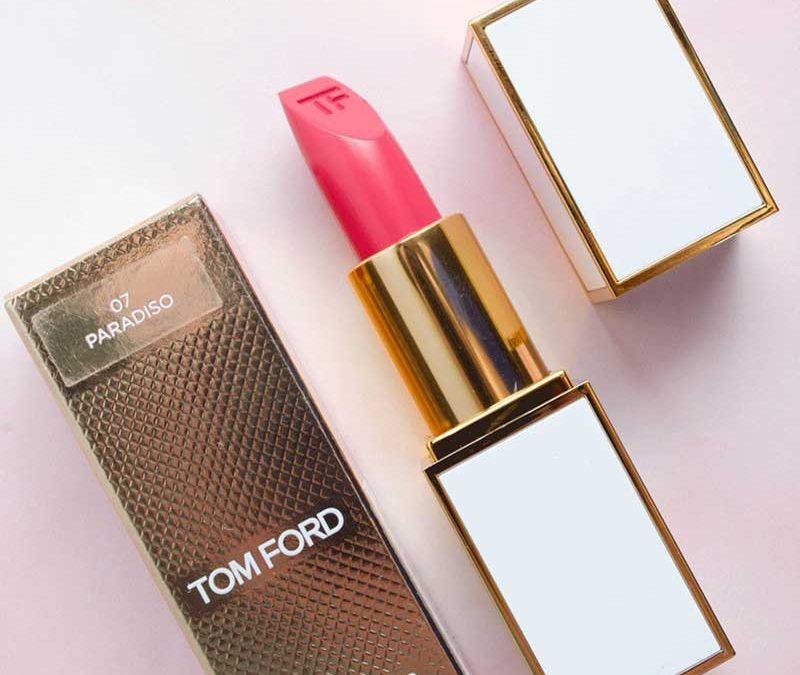 Son Tom Ford 07 Paradiso Hồng Đào – Lip Color Sheer