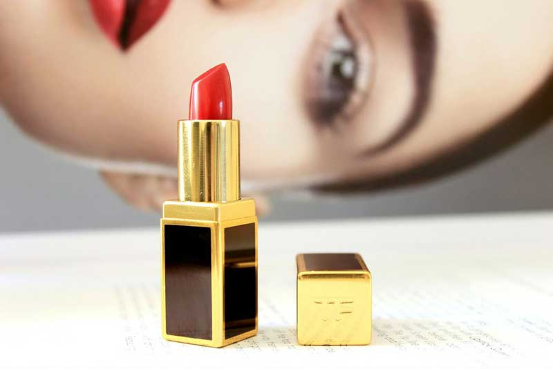Son Tom Ford 10 CHERRY LUSH Đỏ Hồng – Lip Color