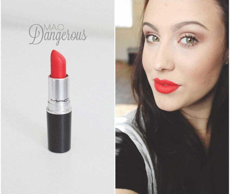 Son MAC màu Dangerous – Retro Matte Lipstick