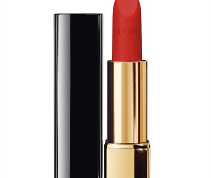 Son CHANEL màu 57ROUGE FEU dòng Rouge Allure Velvet