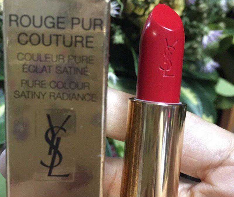 Son YSL Rouge Pur Couture màu 01 LE ROUGE