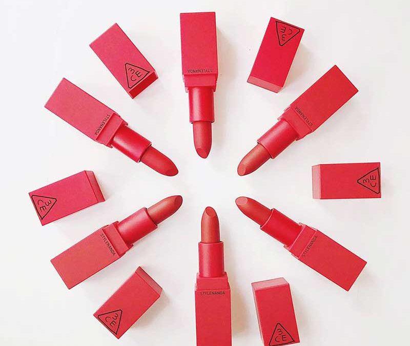 Son 3CE dòng Red Recipe màu 214 – Squeezing đỏ tươi đầy sức sống
