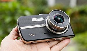 Đánh giá camera hành trình Webvision S5: có camera lùi, màn hình lớn – VnReview