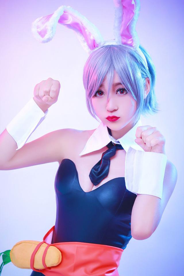 Cùng ngắm cosplay Riven Thỏ Ngọc cực đáng yêu trong Liên Minh Huyền Thoại