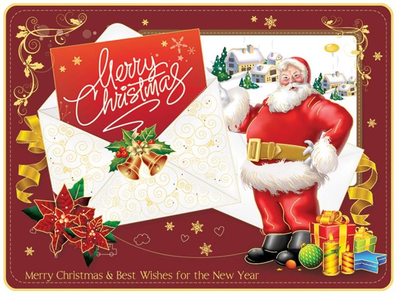 Hướng dẫn làm thiệp Giáng Sinh Handmade tuyệt đẹp