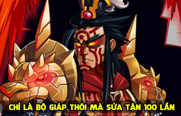 Chỉ vẽ giáp Lữ Bố thôi mà sửa tận… 100 lần, vậy mới thấy làm game Việt khó như thế nào