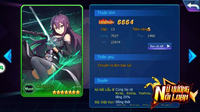 Kirito trong Nữ Vương Nổi Loạn đã chính thức trở thành nữ siêu đáng yêu
