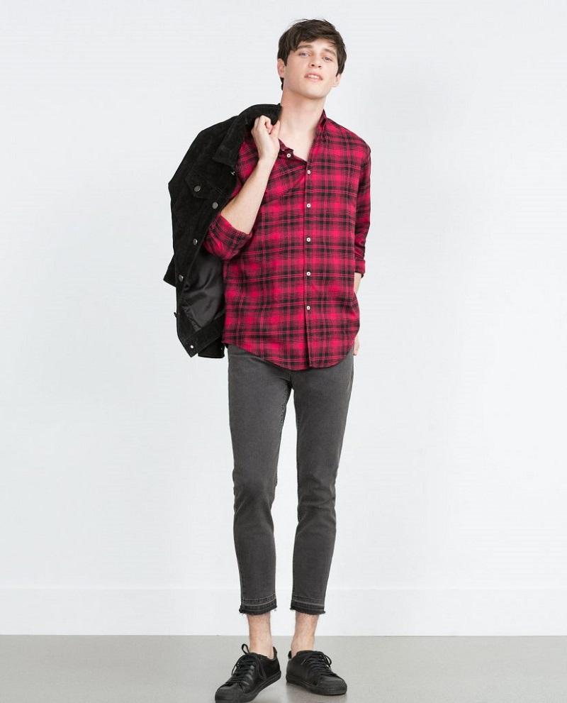 Áo Flannel