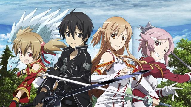 Sword Art Online là một trong những Anime nổi tiếng nhất trong cộng đồng game thủ