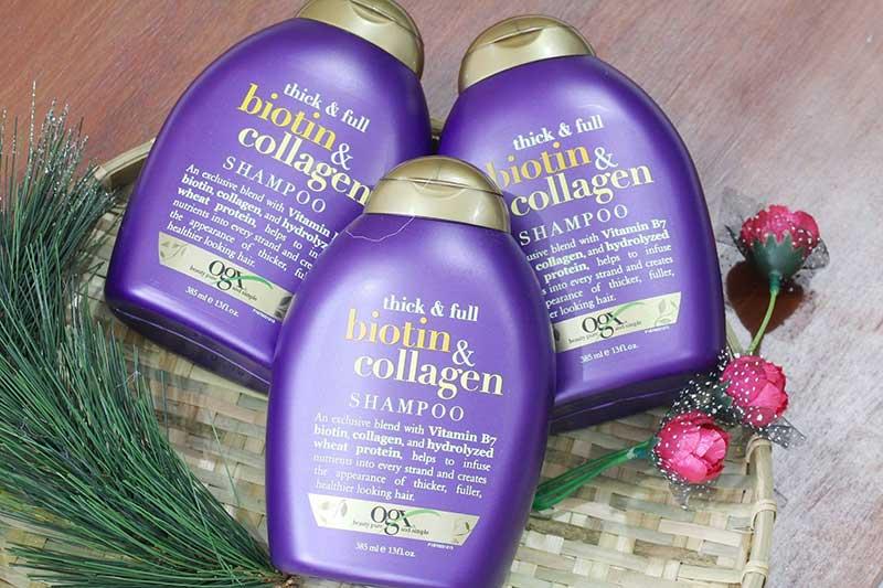Dầu xả Biotin & Collagen OGX – Dầu xả ngăn rụng tóc