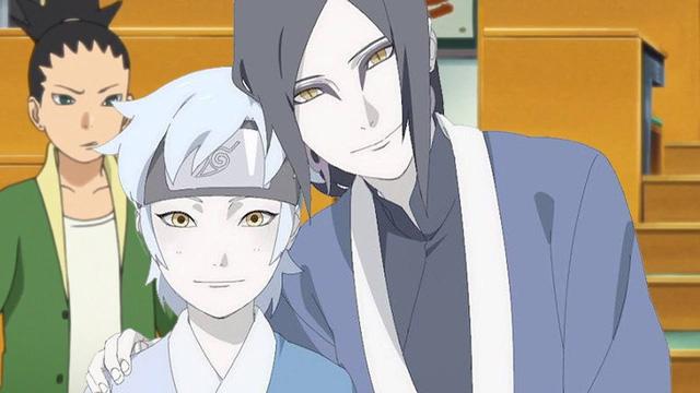 Trong bộ Boruto, Mitsuki là đứa con của Orochimaru