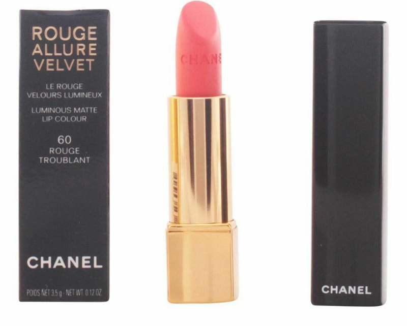 Son CHANEL màu 60 ROUGE TROUBLANT dòng Rouge Allure Velvet