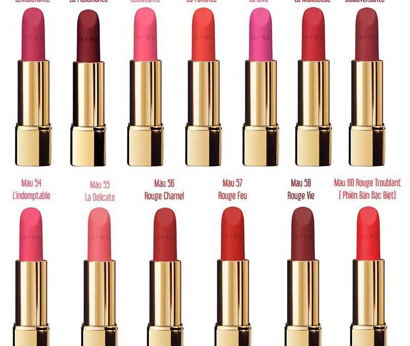 Son CHANEL màu 37 L'EXUBERANTE dòng Rouge Allure Velvet