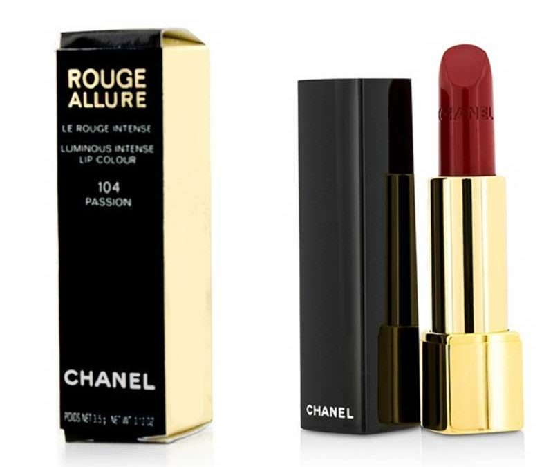 Son CHANEL màu 104 PASSION dòng Rouge Allure