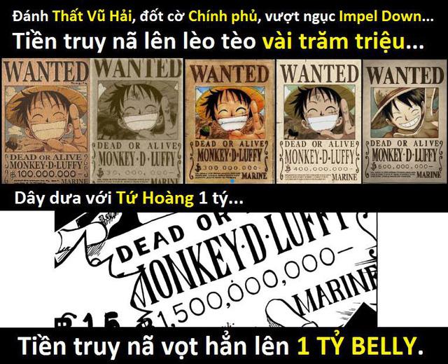 Với mức thưởng 1 tỷ 500 triệu của Luffy, thánh Oda đã cho chúng ta thấy sức mạnh vô đối của... báo lá cải?