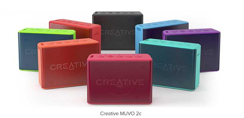 Loa Bluetooth mini Creative Muvo 2C - Loa có giá tốt nhất
