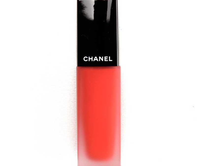 Son Chanel Kem Lì 164 ENTUSIASTA CAM ĐỎ- Dòng Rouge Allure Ink