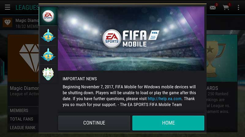 Download/Tải Fifa Online 4 Mobile Cho iOS & Android