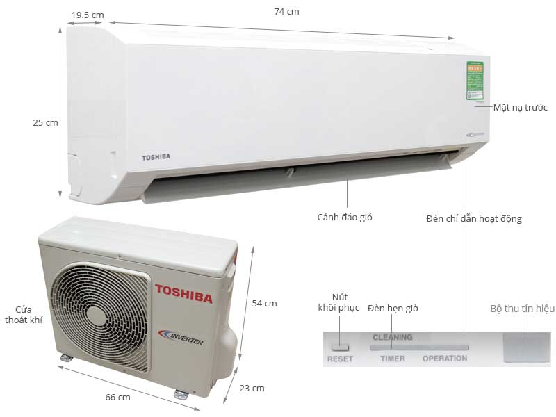 Máy lạnh Inverter tiết kiệm điện giá rẻ