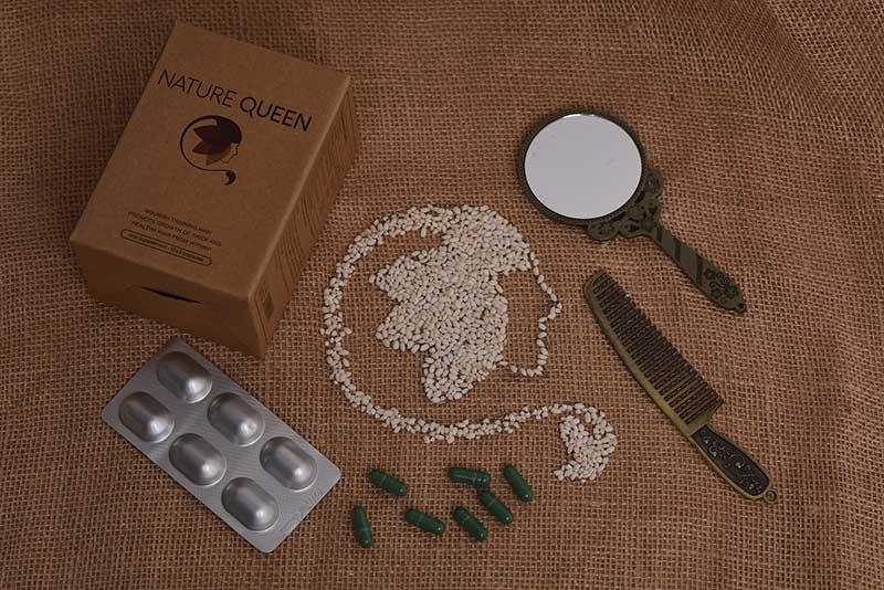 Bộ sản phẩm mọc tóc Nature Queen