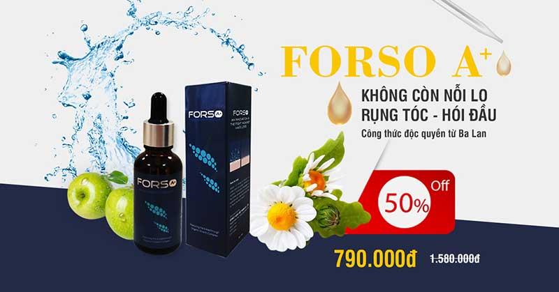 Serum mọc tóc Forso A+