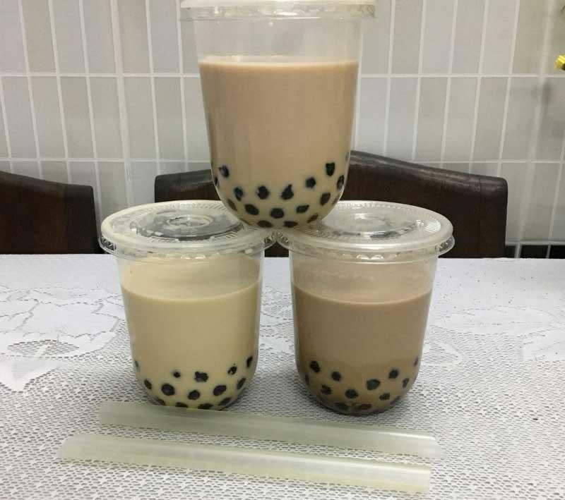 Quán sữa tươi trân châu đường đen