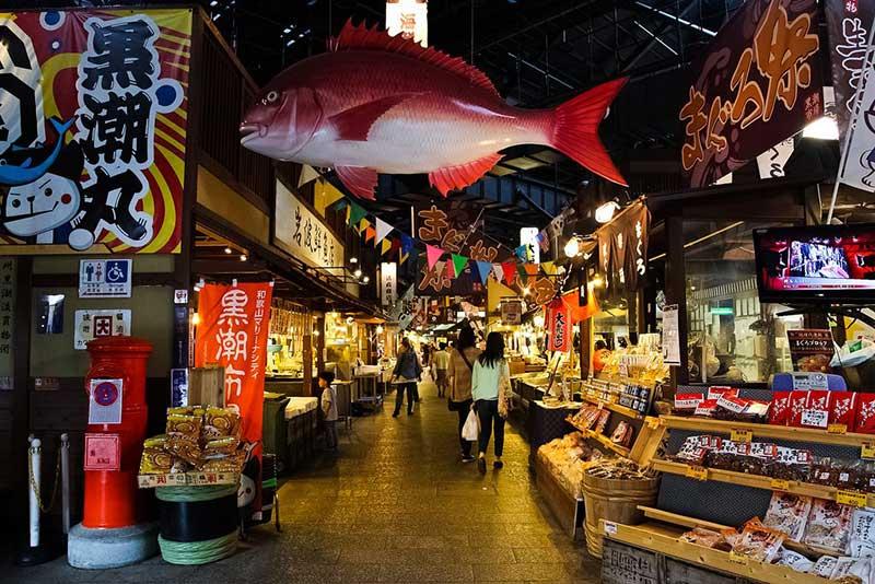 Chợ cá lớn nhất thế giới Tsukiji
