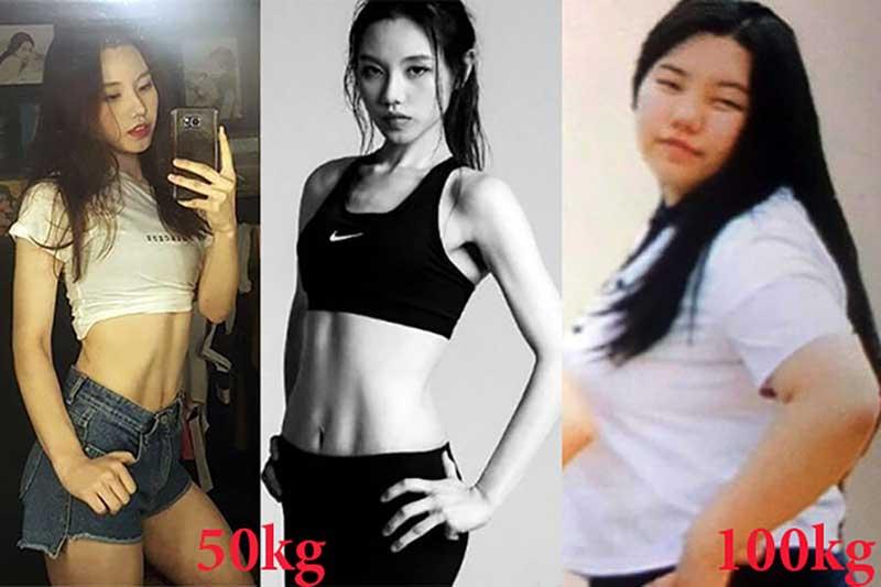 Hành trình giảm cân của cô gái 100kg bị người yêu ruồng bỏ