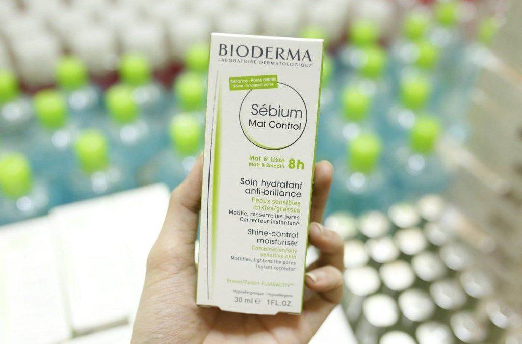Kem dưỡng da kiềm dầu Bioderma Mat Control