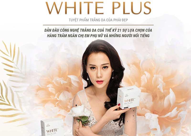 cốm trắng da white plus