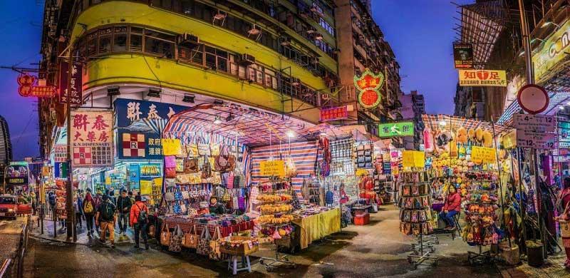 Thỏa sức mua sắm tại chợ Quý Bà ở Hồng Kông.