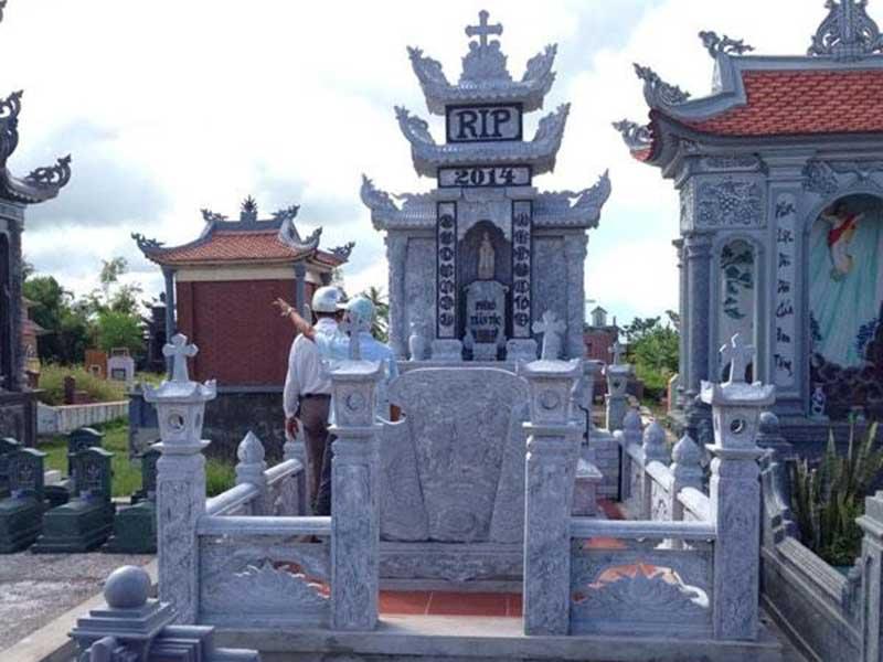 Các loại đá thường được sử dụng làm lăng mộ