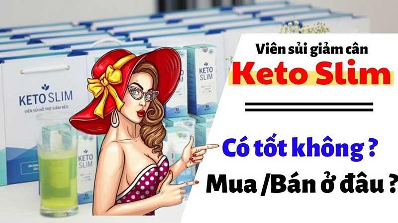 Viên sủi Keto Slim liệu có giúp giảm cân hiệu quả?