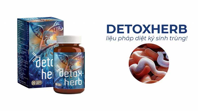 Detoxherb diệt ký sinh trùng có tốt không? Giá bao nhiêu? Mua ở đâu?