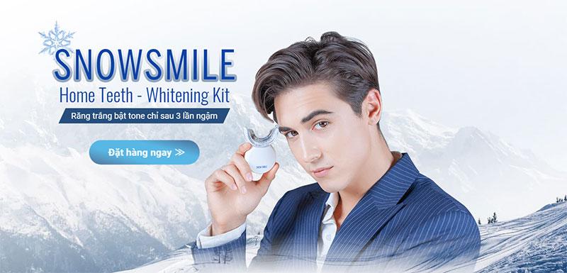 LÀM TRẮNG RĂNG TẠI NHÀ SIÊU ĐƠN GIẢN CÙNG SNOW SMILE